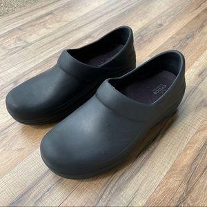 CROCS Nursing Black Slip-on Clogs